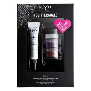 Kit cu 3 Nuante Glitter Nyx Professional #GlitterGoals 03, 10 gr