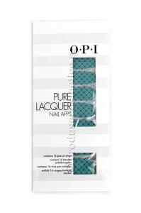 Pachet 16 Abtibilduri Pentru Unghii OPI Pure Lacquer - Fishnet