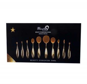 Set 10 Pensule Ovale Profesionale London Pride Cosmetics-Premium Gold