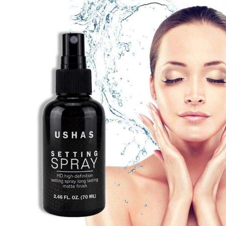 Spray Matifiant Pentru Fixarea Machiajului Ushas Setting Spray HD, 70 ml5