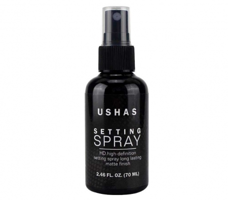 Spray Matifiant Pentru Fixarea Machiajului Ushas Setting Spray HD, 70 ml