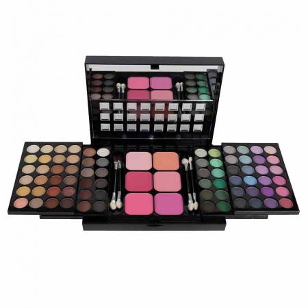 Trusa Machiaj Profesionala 78 Culori La Femme Eyeshadow, Blusher Palette1