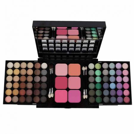 Trusa Machiaj Profesionala 78 Culori La Femme Eyeshadow, Blusher Palette0