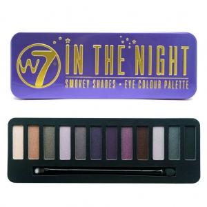 Trusa Profesionala cu 12 Farduri W7 Smokey Shadows - In The Night0