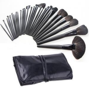 Set de 32 Pensule Profesionale din Par Natural Top Quality Hair - Black0