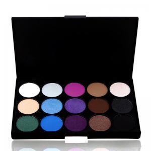 Trusa Profesionala de 15 Farduri pt. Smokey Eyes Spring Colors E15/03