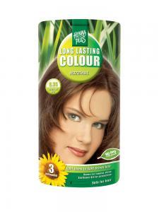 Vopsea de Par HennaPlus Long Lasting Colour - Hazelnut 6.35