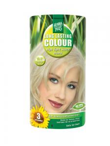Vopsea de Par HennaPlus Long Lasting Colour - High Light Silver Blond0