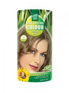 Vopsea de Par HennaPlus Long Lasting Colour - Medium Blond 7