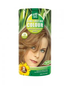 Vopsea de Par HennaPlus Long Lasting Colour - Medium Golden Blond 7.30