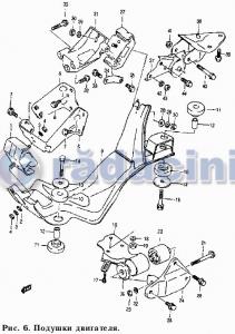 Suport cutie viteza  cod 11880-70B00-000