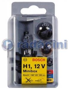 Set becuri minibox H1