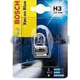 Bec 12V 55W H3 Xenon Blue