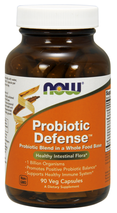 Now Probiotic Defense 90 veg caps 0