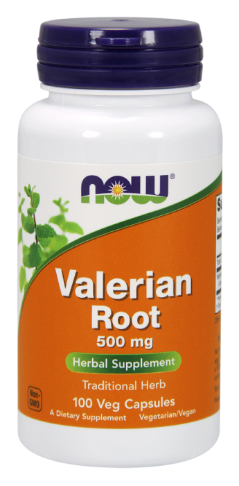 Now Valerian Root 500 mg 100 veg caps 0
