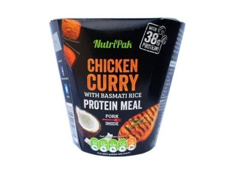 Nutri Pak Chicken Curry with Bassmatti Rice 300g 0