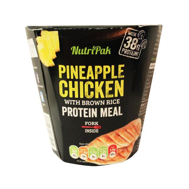 Nutri Pak Pineapple Chicken Brown Rice 300g 0