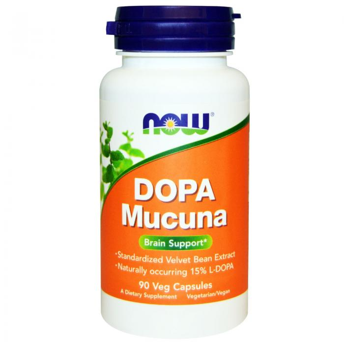 Now Dopa Mucuna 90 veg caps