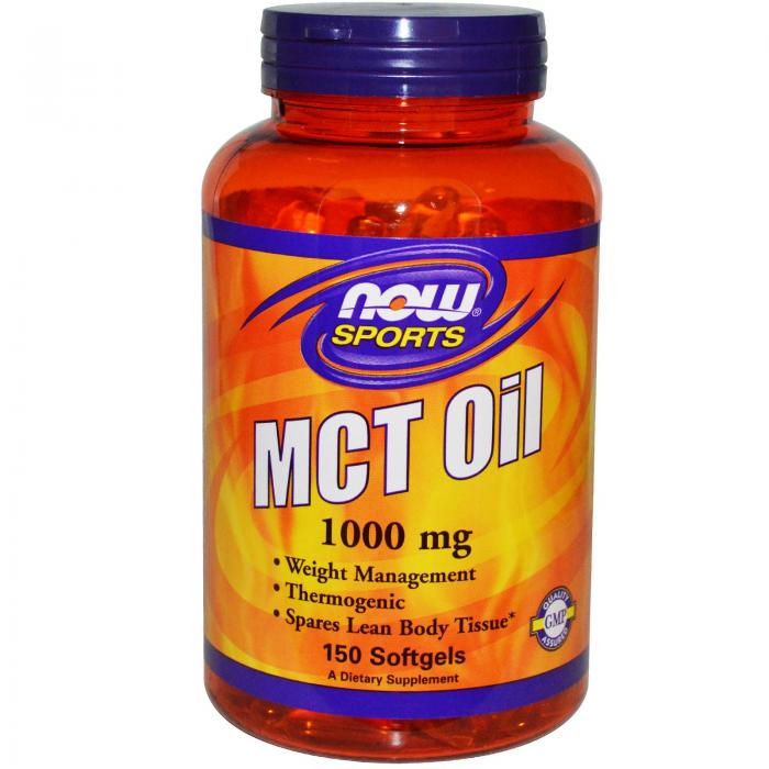 Now Sports MCT Oil 1000 mg 150 softgel 0