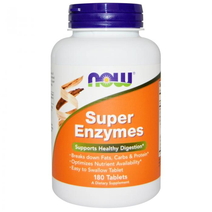 Now Super Enzymes 180 tab 0