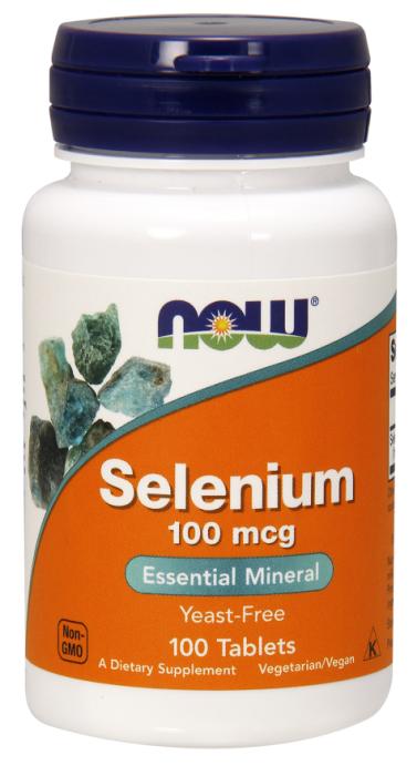 Now Selenium 100 mg 100 tab 0