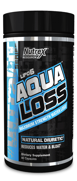 Nutrex Lipo 6 Aqua Loss 80 caps 0