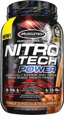 Muscletech Nitro Tech Power 908 gr 0