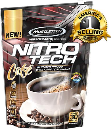 Muscletech Nitro Tech Cafe 30 serv 0