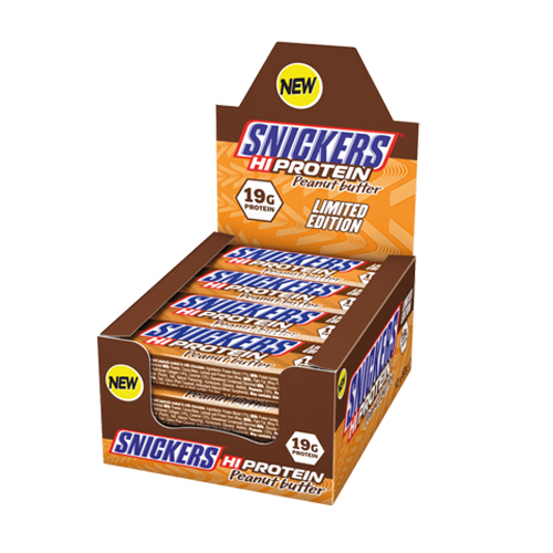 Snickers Hi Protein Peanut Butter 12x57 g