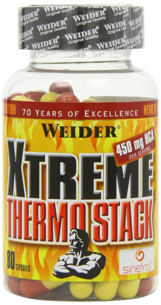 Weider Xtreme Thermo Stack 80 caps 0