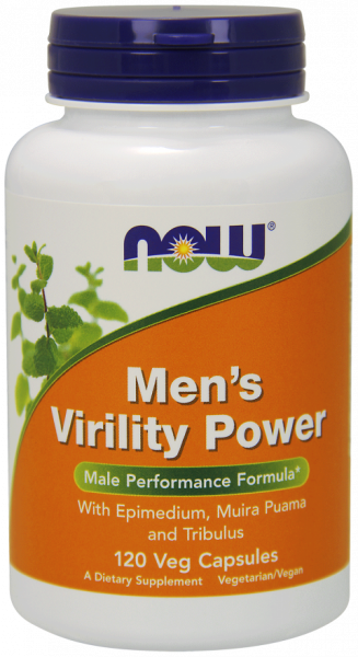 Now Men`s Virility Power 120 vcaps 0