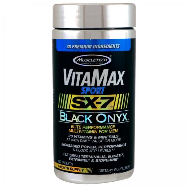 Muscletech VitaMax SX-7 Black Onyx for Men 120 tab 0