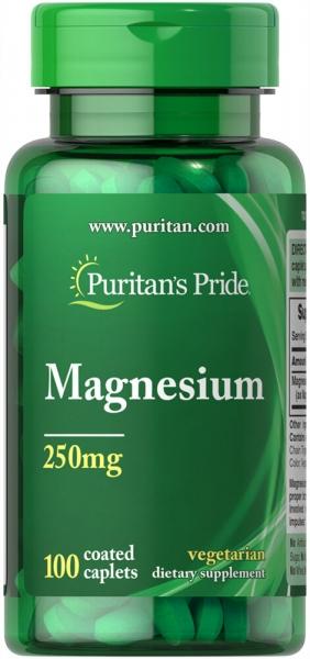 Puritan`s Pride Magnesium 250 mg 100 caplets [0]