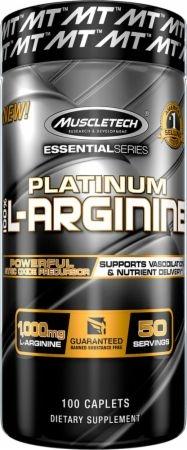 Muscletech Platinum 100% L-Arginine 100 caps 0