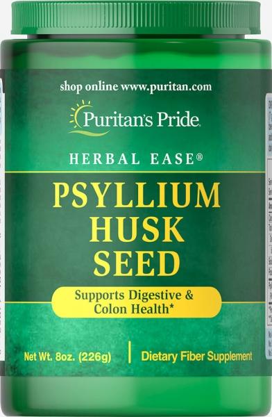 Puritan`s Pride Psyllium Husk Seed 226 g 0