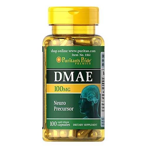 Puritan`s Pride DMAE 100 mg Neuro Precursor 100 caps 0