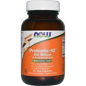 Now Probiotic 10 25 bilion 30 veg caps 0
