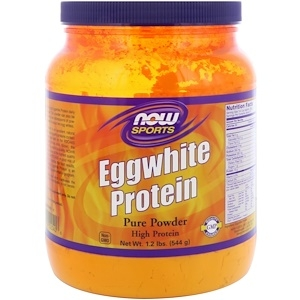 Now Eggwhite Protein pure powder 680 g 0