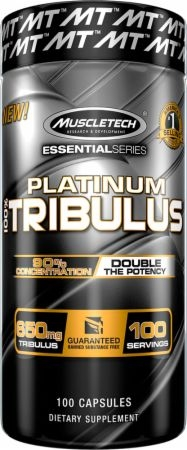 Muscletech Platinum 100% Tribulus 100 caps 0