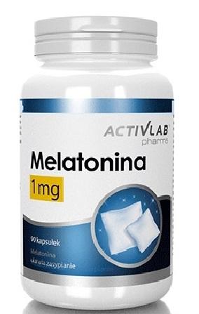 Activlab Pharma Melatonina 1 mg 90 caps 0