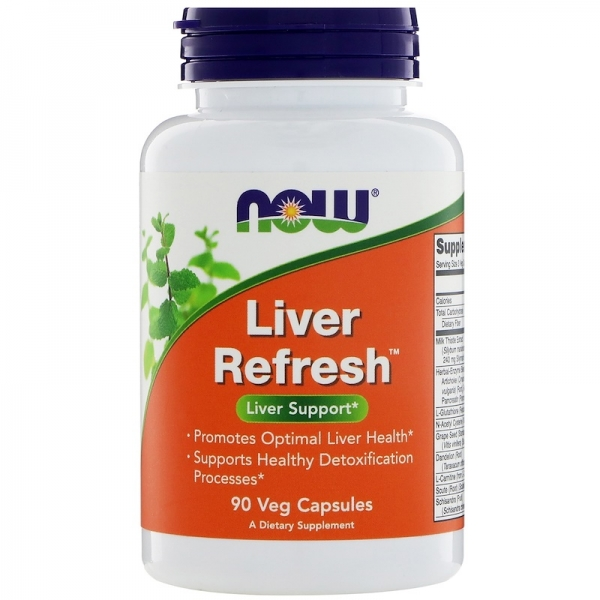 Now Liver Refresh 90 vcaps [0]