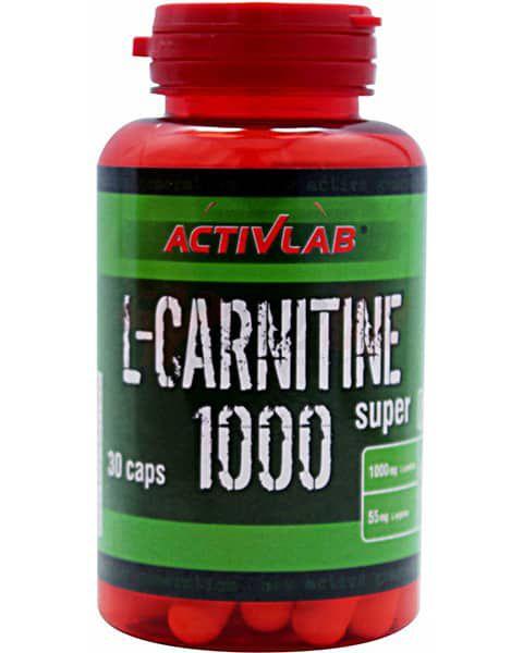 Activlab L-Carnitine 1000 Super 30 caps 0