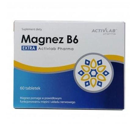 Activlab Pharma Magnez B6 60 tab 0