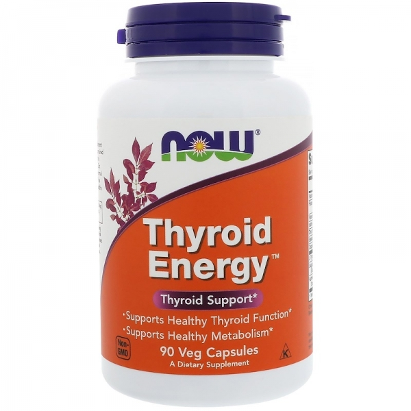 Now Thyroid Energy 90 veg caps 0