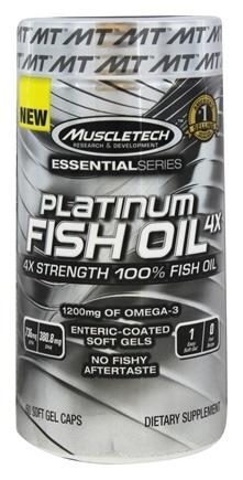 Muscletech Platinum Ultra Strength Fish Oil 60 caps 0