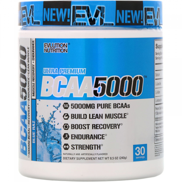 Evlution Nutrition BCAA 5000 pudra 0
