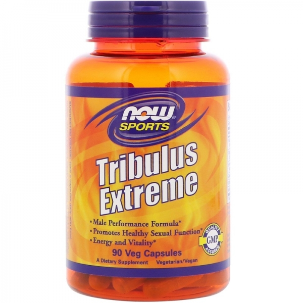 Now Tribulus Extreme 90 veg caps 0