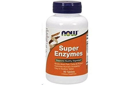 Now Super Enzymes 90 tablete 0