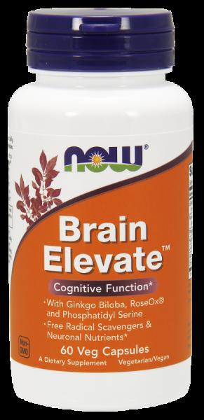 Now Brain Elevate 60 veg caps [0]