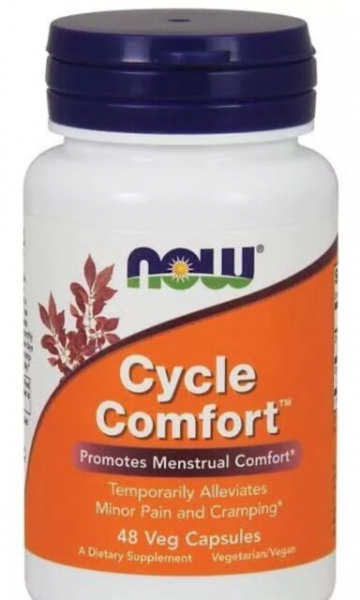 Now Cycle Comfort 48 veg caps 0